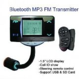 "iParaAiluRy® 1.5""LCD Bluetooth Car Mp4 Player With FM Transmitter Support SD/USB/MMC Card"