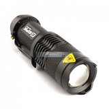 iParaAiluRy® New LED Flashlight Torch Light SK68 3W Zooming Flood-To-Throw CREE Q5 1xAA/14500