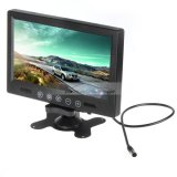 "iParaAiluRy® 9"" TFT LCD Car Rear View Color Monitor With 2 Video Input & Remote Control"