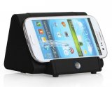 iParaAiluRy® Portable Magnetic Wireless Speaker Induction Speaker For iPad Black