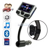 "iParaAiluRy® Car Bluetooth + MP4 Player with Steering Wheel Remote & LCD 1.8""screen"