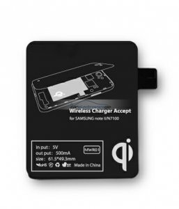 iParaAiluRy® Wireless Charger Receiver Tag for Samsung Galaxy Note2 N7100