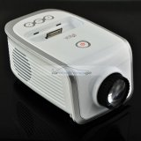 iParaAiluRy® Portable LCD Mini Projector for iPhone and iPod Touch White