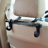 iParaAiluRy® Durable Plastic Vehicle-Mounted Car Seat Coat Hanger