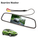 "iParaAiluRy® 4.3"" Color TFT-LCD Car Rear View Mirror Monitor 640x480"