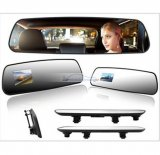 "iParaAiluRy® 2.7"" TFT HD Car Camera DVR Car Black Box Rearview Mirror DVR Super Slim"