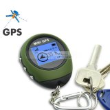iParaAiluRy® Keychain Design Mini GPS Receiver + GPS Location Finder with 512K Flash Memory