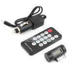 iParaAiluRy® Remote FM Transmitter Car Charger for iPhone 4 3GS iPod