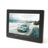 "iParaAiluRy® 7"" TFT Car Rear View Monitor with 3 AV Inputs High Performance Color LCD"