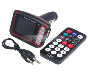 iParaAiluRy® Car MP4 player with built-in FM transmitter