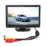 "iParaAiluRy® 5"" Digital Car Rear View Monitor for VCD/DVD/GPS/Camera TFT-LCD LCD Display"