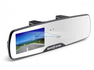 "iParaAiluRy® 2.7"" LCD HD Car Rearview Mirror DVR 1080P Night Vision"