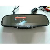"iParaAiluRy® Bluetooth Handsfree kits With Rearview Backup Camera on Rearview Mirror 3.5"" TFT"