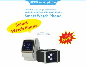 iParaAiluRy® Quad Band Multi-function Bluetooth Android 4.0 Smart Watch EC308 Touch Screen SMS and Internet Make and Answer Calls