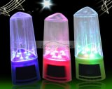 iParaAiluRy® Mini Water Dancing Fountain Speaker Music for Cell Phone Computer Laptop USB SD MP3