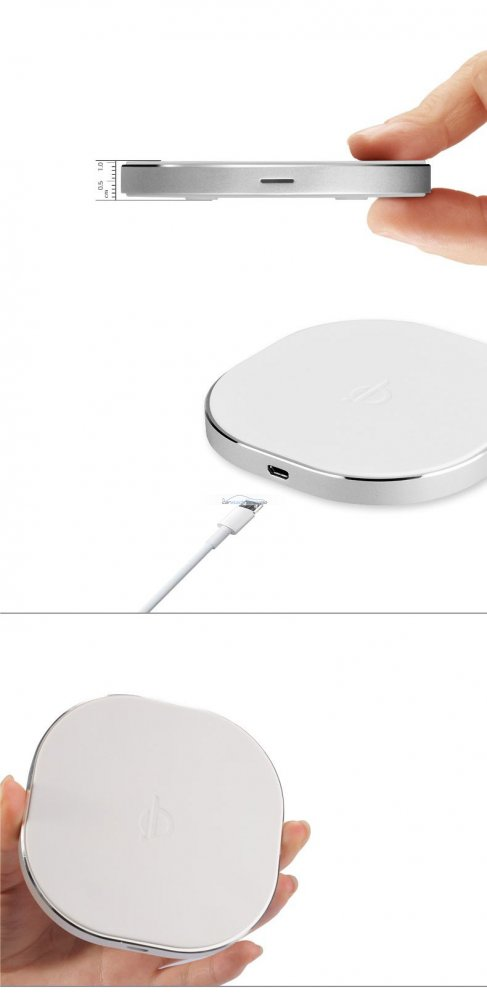 iParaAiluRy® QI Standard Wireless Charger Charging Pad For Samsung Galaxy S3 i9300 S4 i9500 Note2 N7100 White And Black