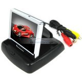 iParaAiluRy® 3.5 Inch TFT-LCD Car Monitor 2-channel Video Input 960H x 240V