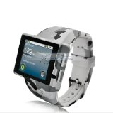 "iParaAiluRy® 2"" Android Phone Watch ""Rock"" with 8GB Micro SD, 2MP Camera Army Combat Uniform Pattern"