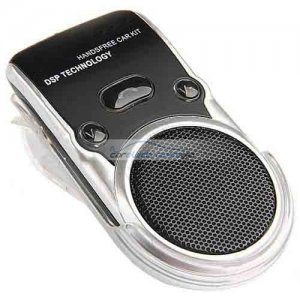 iParaAiluRy® Handsfree Bluetooth Car Kit Speakerphone and Solar Charger for other products
