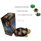 iParaAiluRy® Night Light Sea Turtle Hypnosis Turtle Projector (With One Music) Random Color(Blue Green Amber etc.)