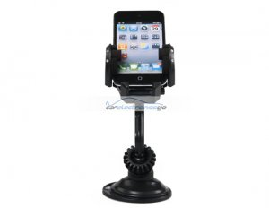 iParaAiluRy® New Car Kit Windshield Holder Cradle for Cell Phone and PDA Black