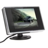 "iParaAiluRy® 3.5"" Mini TFT-LCD Car Monitor ?2-channel Color LCD Display"