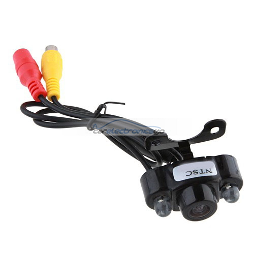 iParaAiluRy® Color CMOS/CCD Car Rear View Reverse Backup Camera with 2 LED Waterproof