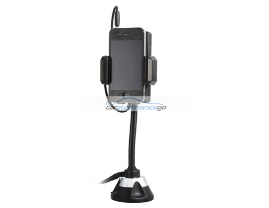 iParaAiluRy® New FM Hands Free Car Kit and FM Transmitter for Cell Phone or MP3/MP4 Player Black