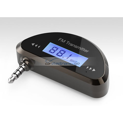 iParaAiluRy® 3.5mm Car FM Transmitter for iPhone Mobile Phone iPad