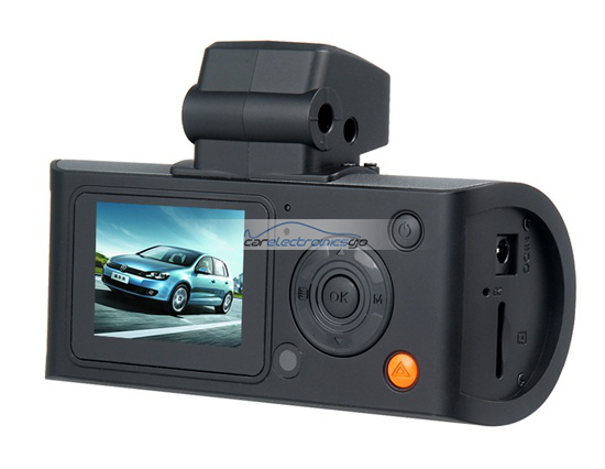 "iParaAiluRy® 1.5"" COMS 5.0 M 1080P Drive Recorder Car DVR with Motion Detection GPS Module Infrared Remote Control Black"