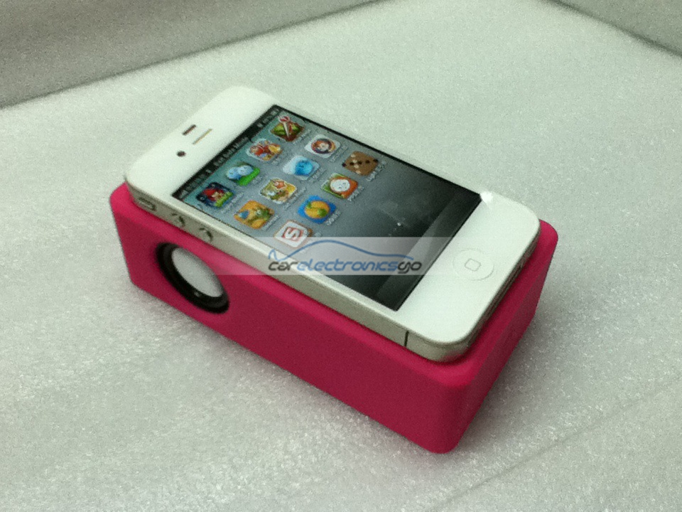 iParaAiluRy® Magnetic Wireless Speaker Induction Speaker For iPhone5 Mult-Color