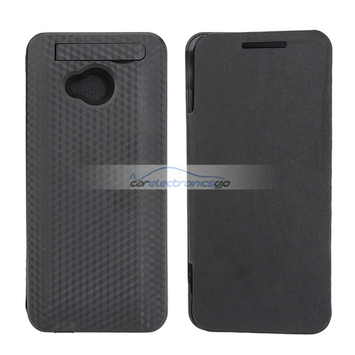 iParaAiluRy® 3800mAh Power Bank Case with Leather For HTC One M7 801e