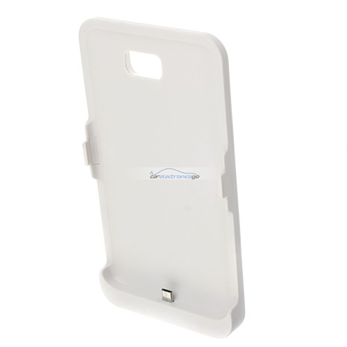 iParaAiluRy® 3200mAh Charger Case for Samsung Galaxy Note i9220 External Backup Battery White