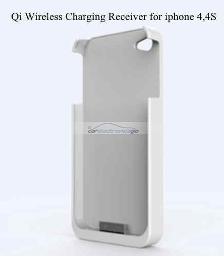 iParaAiluRy® Wireless Charger Pad with Receiver for Samsung Galaxy S4 i9500 , S3 ,Note 2 Qi Standard