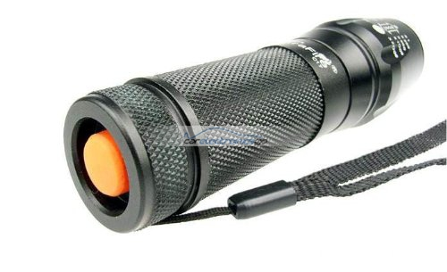 iParaAiluRy® New Flashlight Torch Lamp Lumens Zoomable Cree Xm-l T6 LED 26650 18650 3xAAA Zoom