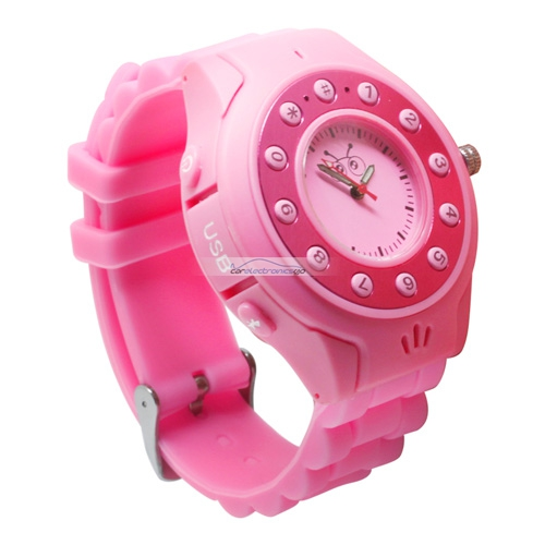 iParaAiluRy® C5 Quad Band Bluetooth Children Watch Cellphone With Intelligence Monitor MP3 Player