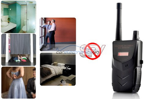 iParaAiluRy® Portable Wireless Camera Detector Detect Video and Audio Signal